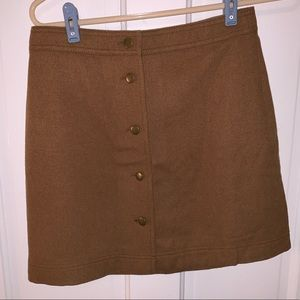 Light brown Madewell Skirt (0)